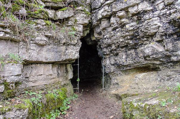 Venushöhle, auch Venusgrotte genannt, im Großen Hörselbeg