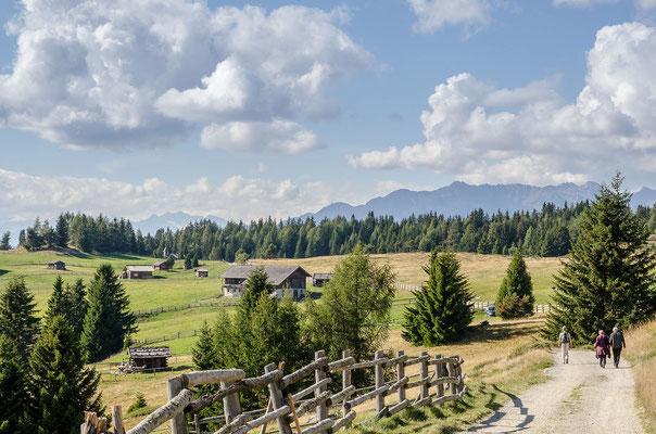 Die Lüsner Alm ist ein ausgedehntes landschaftlich reizvolles Hochplateau
