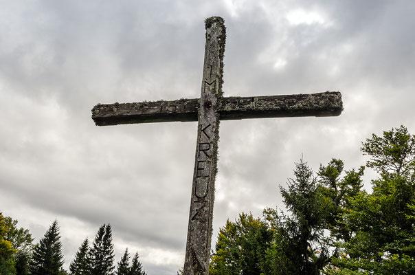 Kreuz auf dem Gamsstein