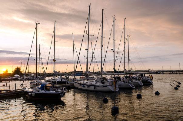 Ankerplatz für Segelschiffe: der Hafen von Gager
