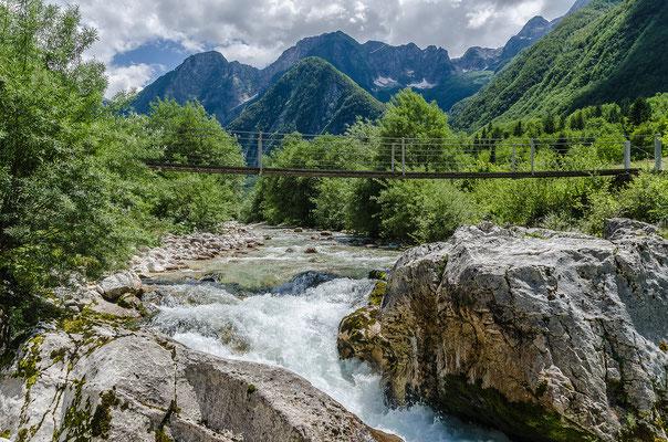 Das Soča-Tal zählt zu den schönsten Tälern der östlichen Alpenwelt