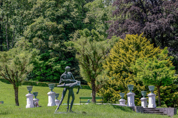 Grüne Lunge Ljubljanas: der rund 5 km² große Tivoli Park