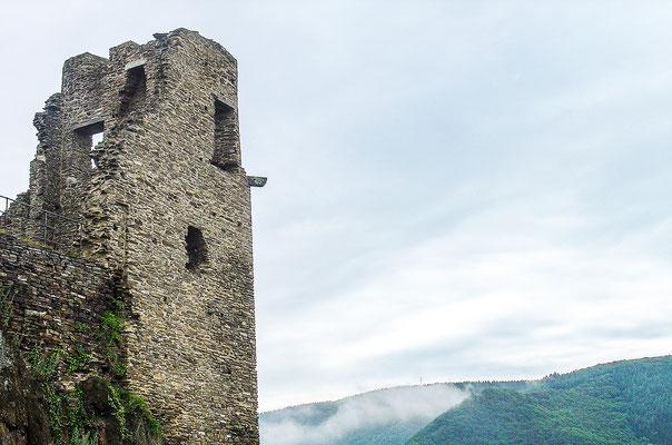 Torturm der Burg Are
