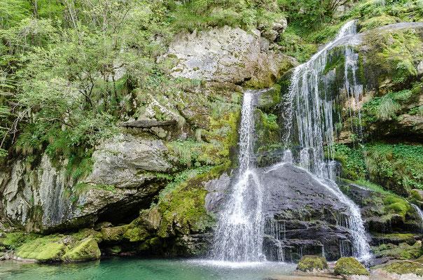 Und immer wieder gibt es einen Wasserfall zu entdecken