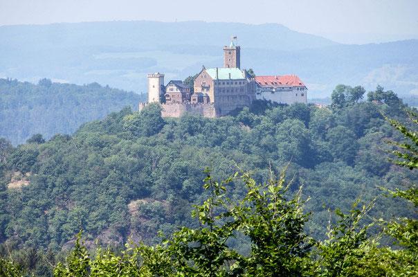 """Diie Wartburg oberhalb von Eisenach ist ein """"Welterbe der Menschheit"""""""
