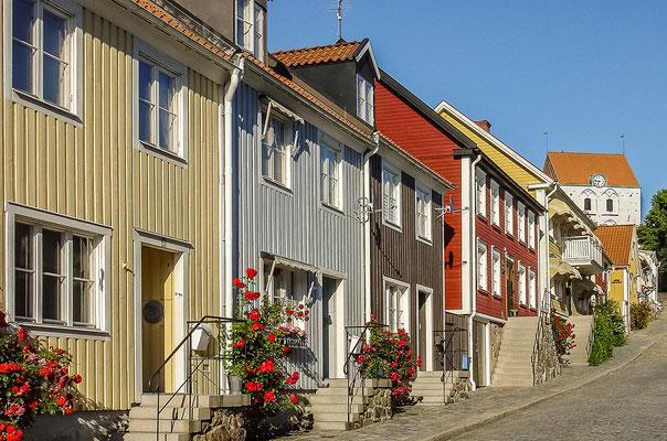 Holzhäuser in Ronneby