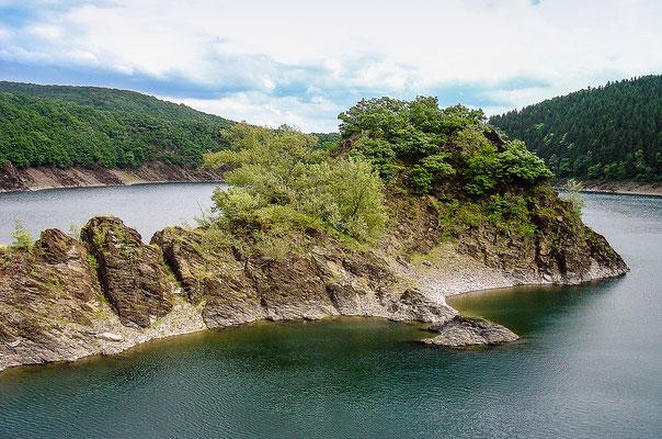 Insel auf der Rur