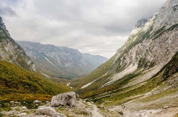 Das Vrata-Tal im Herzen der Julischen Alpen