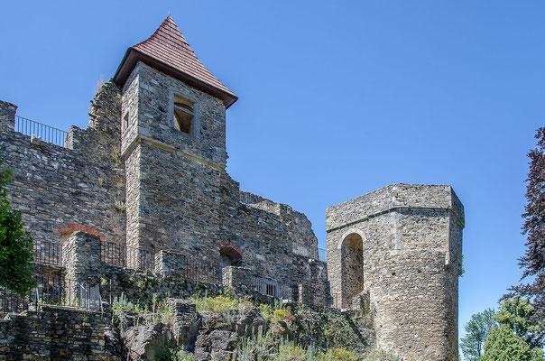 Burg Klenová wurde Ende des 13. Jahrhunderts vollendet