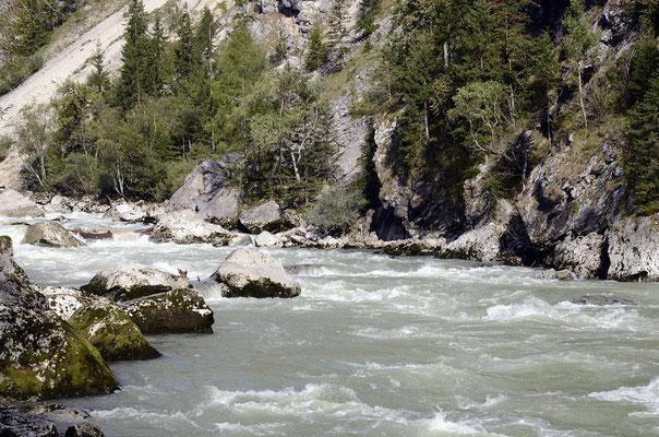 Die Enns ist ein Nebenfluss der Donau