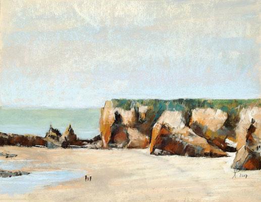 La Point du Bile (Bretagne), 24 x 30 cm, auf UART 400