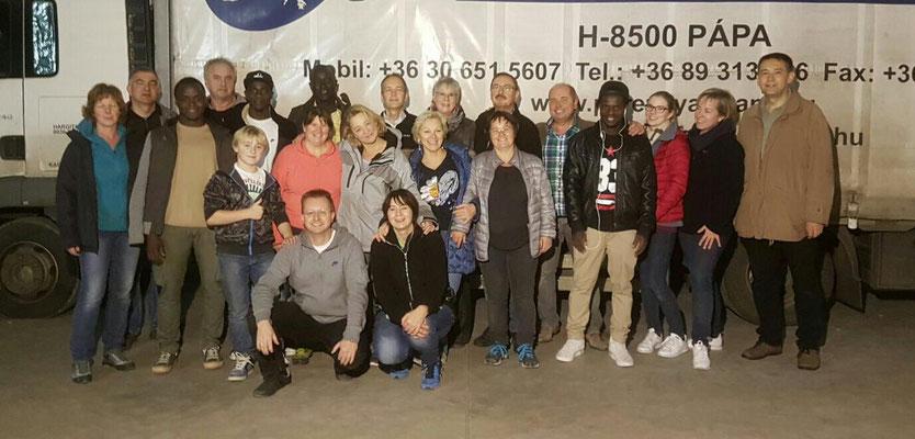 Das Verladeteam der Herbstsammlung 2016