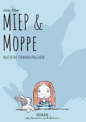 """Cover-und Innenseitenillustrationen Jugendroman """"MIEP&MOPPE"""" Erhältlich im Buchhandel ab Dezember 2018 Tusche & Aquarell"""