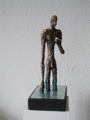 Mixed media skulptur