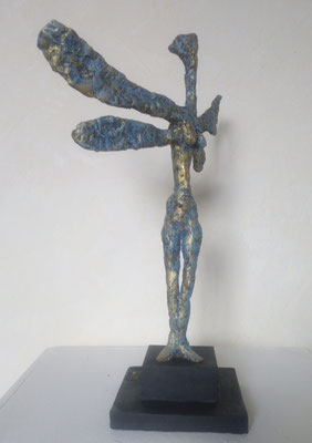 Liebelle, Mixed media Skulptur