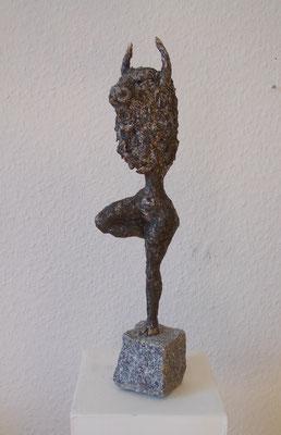 Mixed media skulptur
