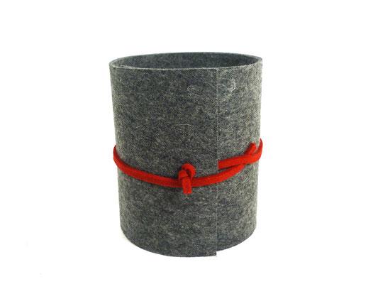 manufra Toillettenrollenverstecker grau-meliert 2