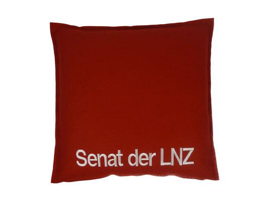 Kissen rot Senat der LNZ