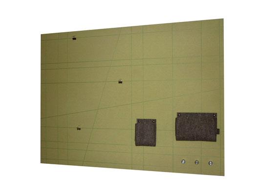Schlüsselboard groß grün