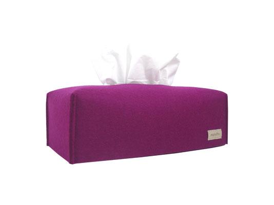 Kosmetiktuchbox lang pink