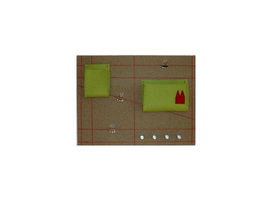 Schlüsselboard grün