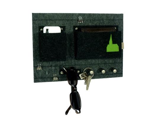 Schlüsselboard mit Kapelle