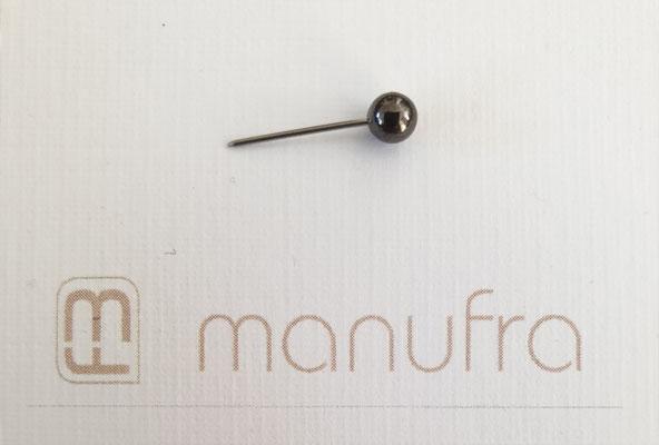 manufra pin für Eisenhower Matrix / Board schwarz