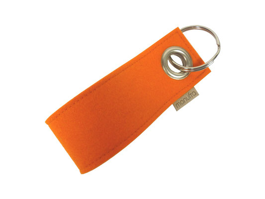 manufra Schlüsselanhänger orange 05