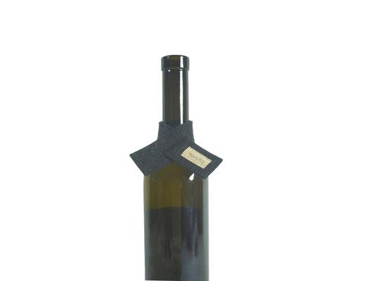 Weinmanschette Schal anthrazit G3-9