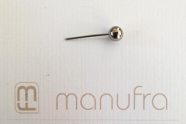 manufra pin für Eisenhower Matrix / Board silber