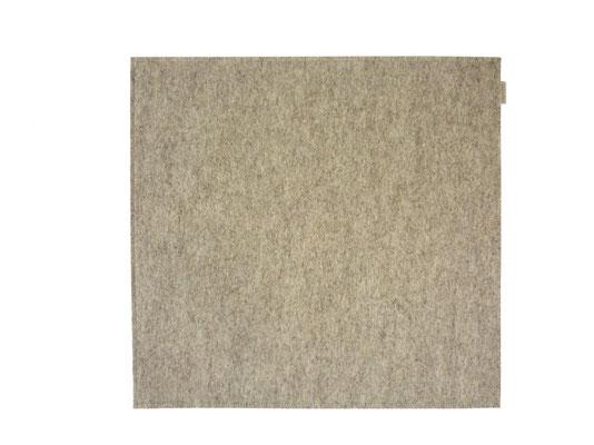 Sitzkissen doppelt 40 x 40 cm beige-meliert