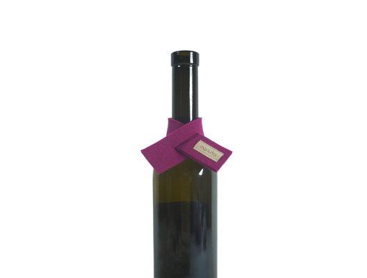 Weinmanschette Schal pink 30