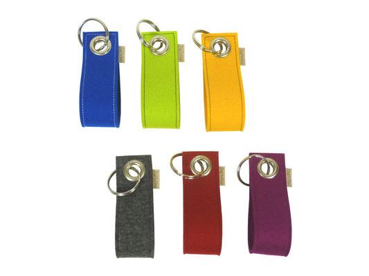 manufra Schlüsselanhänger bunt