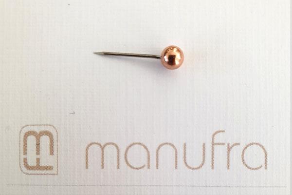 manufra pin für Eisenhower Matrix / Board kupfer
