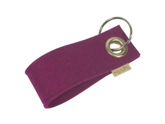 manufra Schlüsselanhänger pink 30