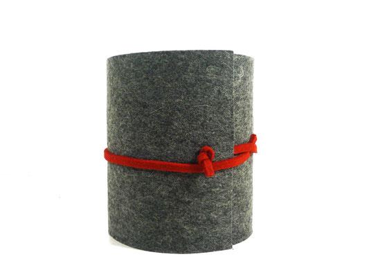 manufra Toillettenrollenverstecker grau-meliert 3
