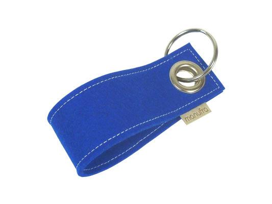 manufra Schlüsselanhänger royalblau 59