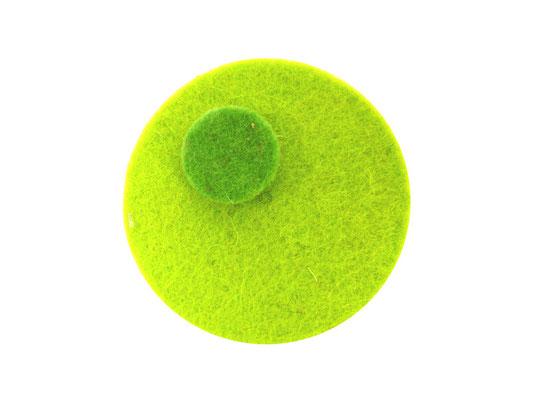 Magnet rund limone / grüne