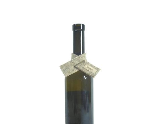 Weinmanschette Schal beige-meliert