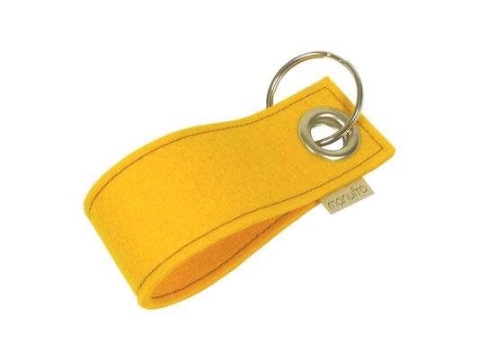 manufra Schlüsselanhänger maisgelb 03