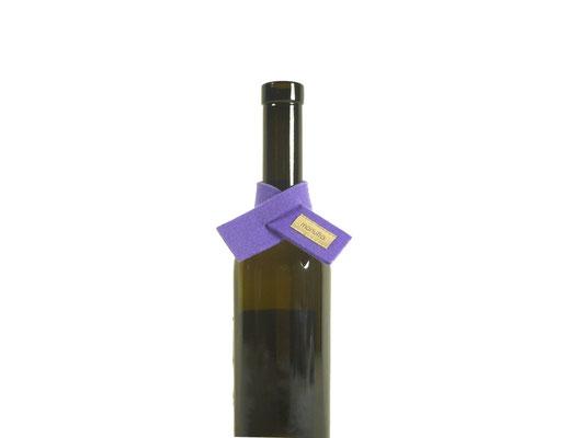 Weinmanschette Schal lavendel