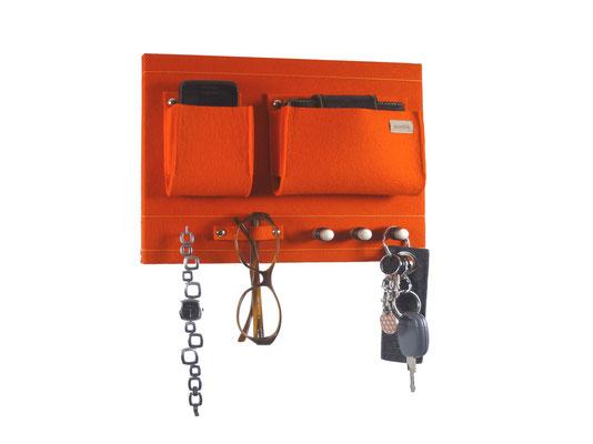 Schlüsselboard orange