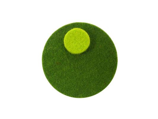 Magnet rund oliv / limone