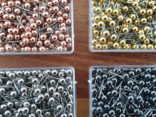 manufra pin für Eisenhower Matrix / Board alle Farben in der Dose
