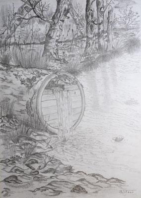 Quelle am See - 21 x 30 cm, (nicht mehr verfügbar)