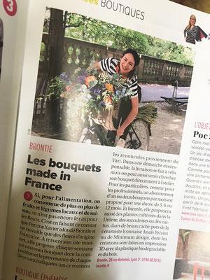 Tribune de Lyon avec BRONTIE avril 2018
