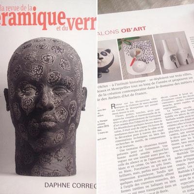 La revue de la céramique et du verre Mars-avril 2017