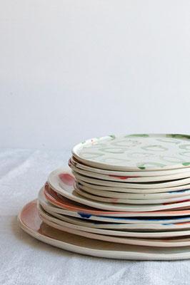 Assiettes, ©Chaïmâe Chraïbi
