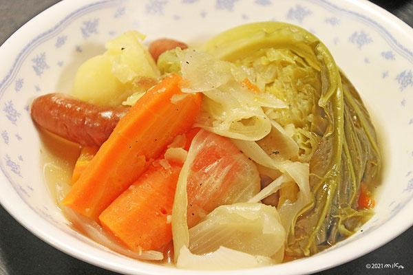 ポトフ(野菜ゴロゴロ)