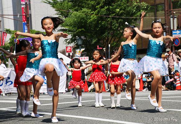 神戸鹿の子幼稚園ルーシィバンビバトンチーム